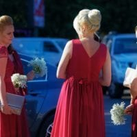 Halloween Costume Idea: Bridesmaids Dresses!
